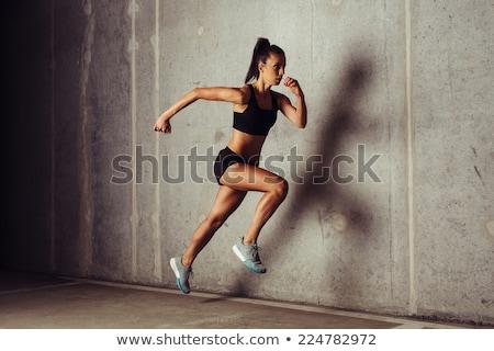 Crossfitの 選手 暗い 男性 男性 白人 ストックフォト © dacasdo