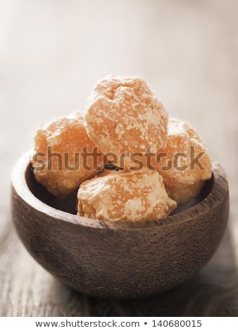 食用 ソーダ 灰 ボウル 黄色 ストックフォト © zkruger