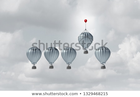 3d illustration of business competitive advantage  Stock photo © dacasdo