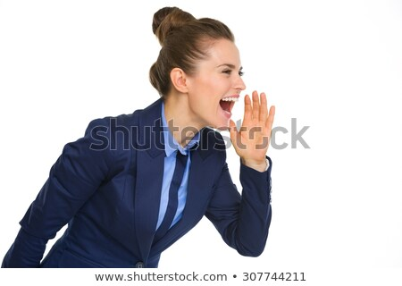 hey can you hear me stock photo © stockyimages
