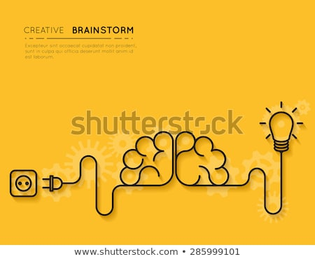 Creativity and brainstorming concept Stock photo © lightkeeper