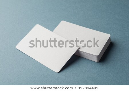 Businessman With Blank Card Stock photo © AndreyPopov