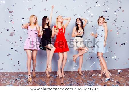 Glamour benen collectie charmant vrouw schoenen Stockfoto © fotorobs