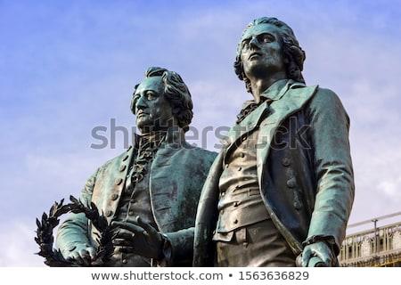 Août statue dresde Allemagne homme art Photo stock © joyr