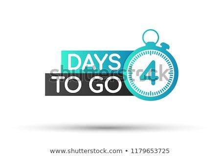 countdown four stock photo © idesign