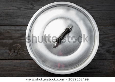 pot with lid isolated on white background Stock photo © alinamd