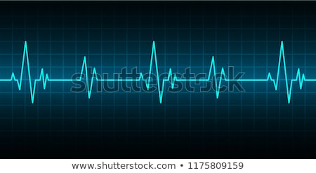 heart rate background Stock photo © magann