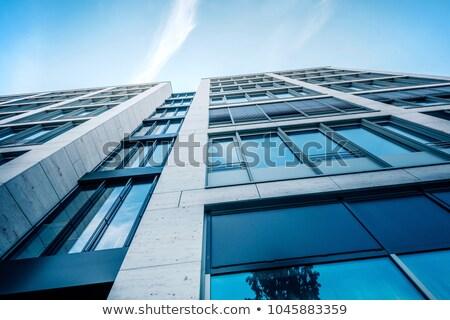 超高層ビル · 空っぽ · トラフィック · アップ - ストックフォト © joyr