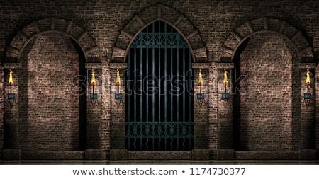 Kasteel muur gebouw steen Stockfoto © manfredxy