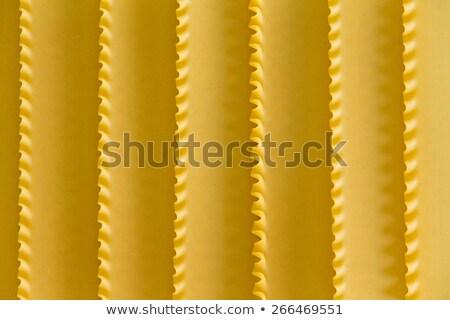 Organic dried lasagne background texture Stock photo © ozgur