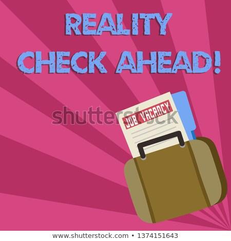 Prawda leży pisać folderze biuro narzędzia Zdjęcia stock © fuzzbones0