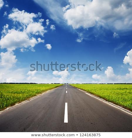エンドレス · 道路 · 青空 · ナミビア · ゲーム · 公園 - ストックフォト © karandaev