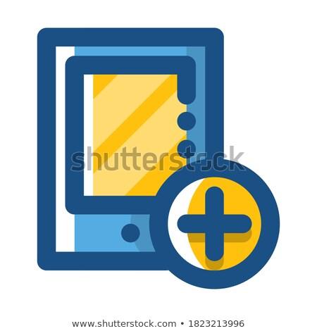 personnelles · informations · bleu · bureau · dossier · image - photo stock © tashatuvango