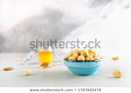Various cans and ceramic bowls Stock photo © ozgur