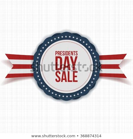 absztrakt · amerikai · poszter · nap · USA · negyedik - stock fotó © maxpainter