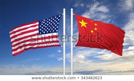 Соединенные · Штаты · Китай · связи · успех - Сток-фото © lightsource