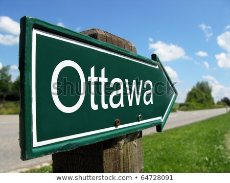 Foto stock: Ottawa Canada Text