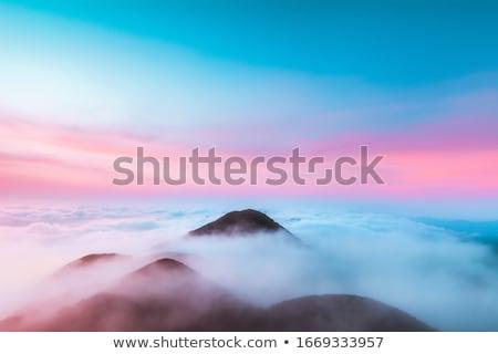 午前 夜明け 海 ピンク バリ ストックフォト © SergeyAndreevich