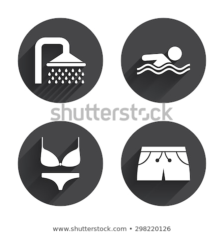icons with swimwears stock photo © bluering