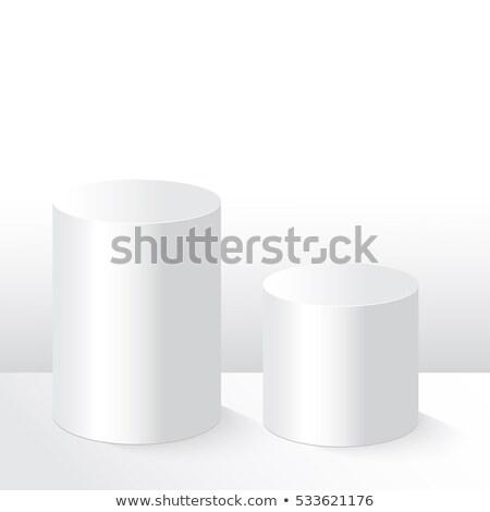 белый · подиум · концерта · успех · лестницы · пластиковых - Сток-фото © oakozhan