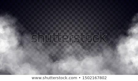 Vektör sis gri bulutlar eğim Stok fotoğraf © Tawng