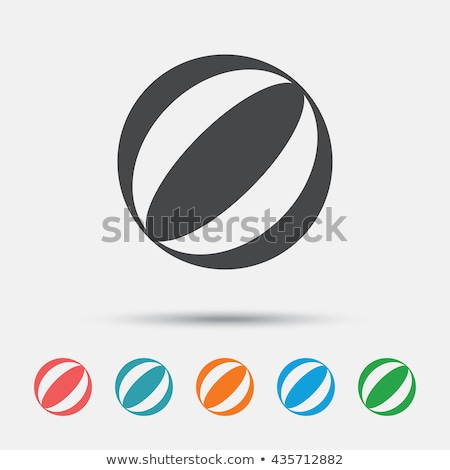 Seal playing With a Beach Ball Stock photo © derocz
