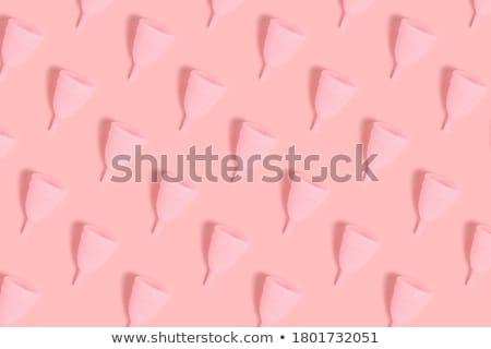 シリコーン · カップ · 少女 · 血液 · 薬 · 女性 - ストックフォト © gsermek