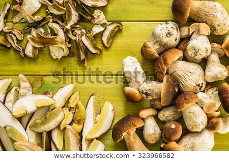 whole and sliced cep (Boletus edulis) Stock photo © Digifoodstock