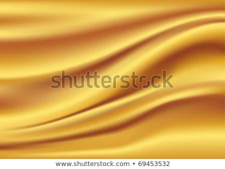 атласных шелковые волны желтый волнистый Сток-фото © fresh_5265954