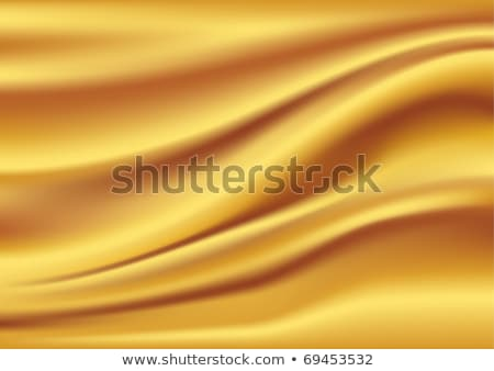 Satinato seta onde giallo ondulato Foto d'archivio © fresh_5265954