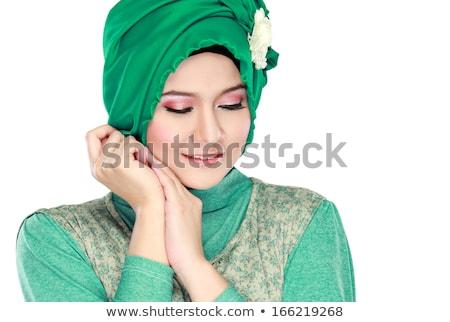 rahibe · nimet · dini · kadın · çapraz · ibadet - stok fotoğraf © nikodzhi