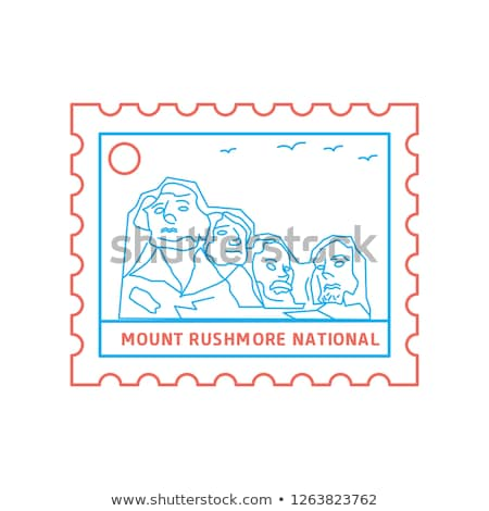 Postage stamp of Theodore Roosevelt Stock photo © Hofmeester