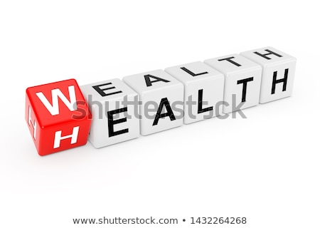 health is wealth medicine 3d illustration stock photo © tashatuvango