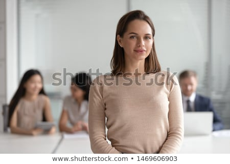 Coworkers concentrating on pictures Stock photo © IS2