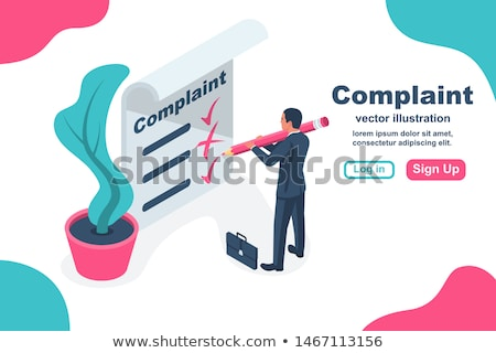 Clipboard with Claim Concept. 3D. Stock photo © tashatuvango