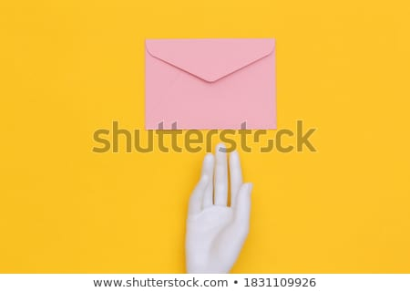 e mail symbol at the top Stock photo © get4net