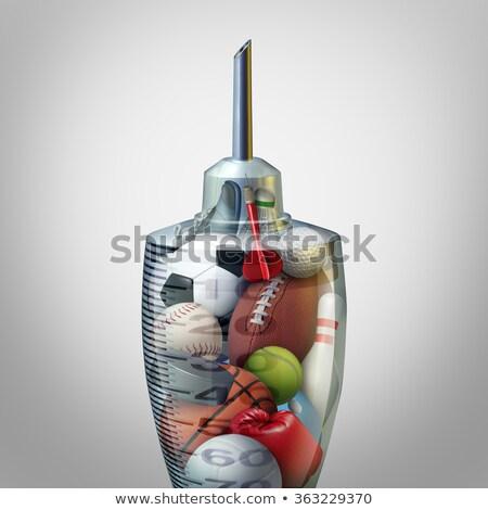 наркотики спортивных Идея незаконный исполнении наркотиков Сток-фото © Lightsource