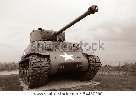 Sherman Tank Stock photo © mikdam
