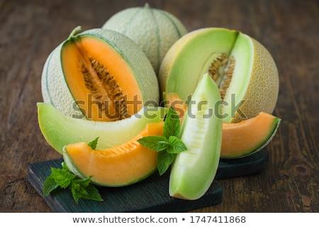 メロン 全体 新鮮な 甘い フルーツ ストックフォト © LoopAll