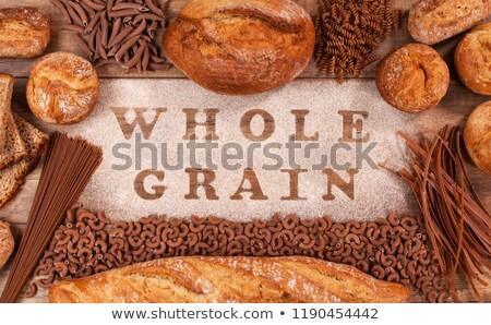 ベーカリー 製品 パスタ 全体 穀類 小麦粉 ストックフォト © lightkeeper