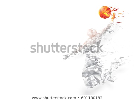 basketbal · toernooi · illustratie · vector · eps · 10 - stockfoto © linetale