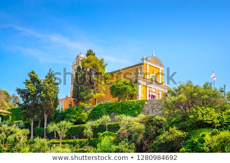 Church of San Giorgio in Portofino, Italy Stock photo © boggy
