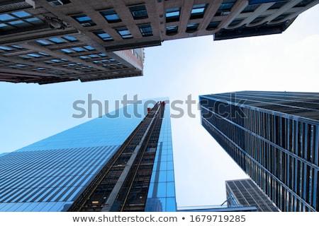 表示 新しい 建物 セントラル·パーク ニューヨーク市 ストックフォト © AndreyPopov