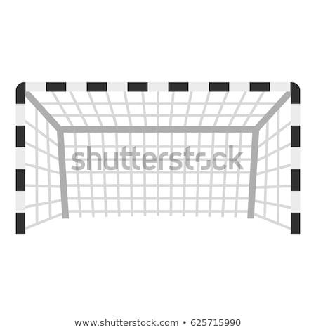 futebol · portão · ícone · cor · projeto · esportes - foto stock © angelp