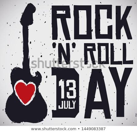 Love Heart eroded rock Stock photo © lovleah