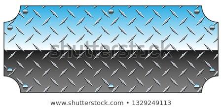 fém · tányér · gradiens · háló · fal · terv - stock fotó © jeff_hobrath