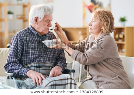 Caring of spouse Stock photo © pressmaster