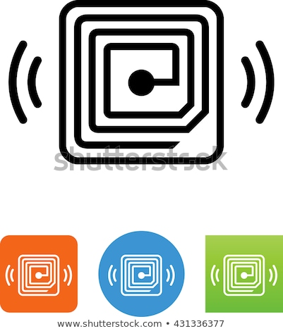 digital vector rfid radio stock photo © frimufilms