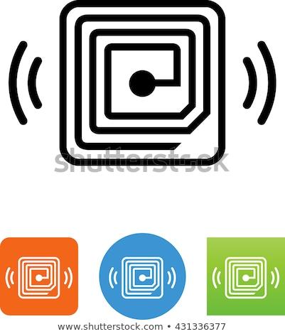 Stockfoto: Digital Vector Rfid Radio