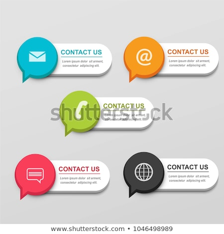 Get in touch concept banner header. Stock photo © RAStudio